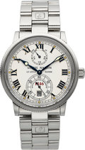 Timepieces:Wristwatch, Ulysse Nardin 1846 Model Marine Chronometer Watch With PowerIndicator. ...