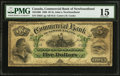 Canadian Currency: , Saint Johns, NF- Commercial Bank of Newfoundland $5 Jan. 3, 1888 Ch# 185-18-06.. ...