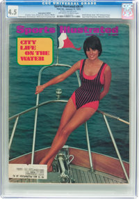 Sports Illustrated V36#3 Subscription Edition (Time Inc., 1972) CGC VG+ 4.5 Off-white to white pages