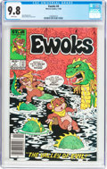 Modern Age (1980-Present):Science Fiction, Ewoks #4 (Marvel, 1985) CGC NM/MT 9.8 White pages....