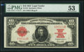 Large Size:Legal Tender Notes, Fr. 123 $10 1923 Legal Tender PMG About Uncirculated 53.. ...