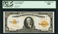 Large Size:Gold Certificates, Fr. 1173a $10 1922 Gold Certificate PCGS Very Choice New 64.. ...