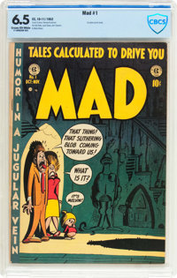 MAD #1 (EC, 1952) CBCS FN+ 6.5 Cream to off-white pages