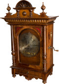 "Entertainment Collectibles:Music, Komet 13"" Upright Disc Music Box...."