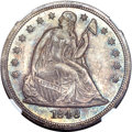 Seated Dollars, 1846 $1 MS65+ NGC. CAC. OC-1, R.1....