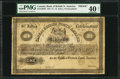 Canadian Currency: , St. John's, NF- Bank of British North America £1 Ch. # 55-10-10-02PProof.. ...