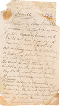 Miscellaneous:Ephemera, Charles Guiteau: Additional original manuscript draft pages of Charles Guiteau's 1882 book.... (Total: 7 Items)