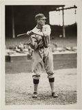 Baseball Collectibles:Photos, 1912-16 Walter Johnson Batting Original Photograph by PaulThompson, PSA/DNA Type 1....