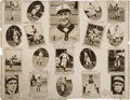 Baseball Collectibles:Photos, 1908 Detroit Tigers Composite Team Photograph....