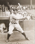 Baseball Collectibles:Photos, 1927 Lou Gehrig Original Photograph by Charles Conlon--Used for1933 Goudey Card, PSA/DNA Type 1.. ...