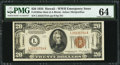 Small Size:World War II Emergency Notes, Fr. 2304 $20 1934 Mule Hawaii Federal Reserve Note. PMG ChoiceUncirculated 64.. ...