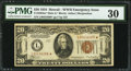 Small Size:World War II Emergency Notes, Fr. 2304* $20 1934 Mule Hawaii Federal Reserve Note. PMG Very Fine30.. ...