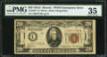 Small Size:World War II Emergency Notes, Fr. 2305* $20 1934A Hawaii Federal Reserve Note. PMG Choice Very Fine 35.. ...