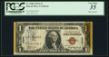 Small Size:World War II Emergency Notes, Chester W. Nimitz Short Snorter Fr. 2300 $1 1935A Hawaii Silver Certificate. PCGS Very Fine 35.. ...