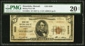 National Bank Notes:Hawaii, Honolulu, HI - $5 1929 Ty. 2 Bishop First NB Ch. # 5550. ...