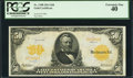 Large Size:Gold Certificates, Fr. 1198 $50 1913 Gold Certificate PCGS Extremely Fine 40.. ...