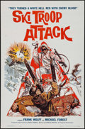 "Movie Posters:War, Ski Troop Attack (Filmgroup, 1960). One Sheet (27"" X 41""). War....."