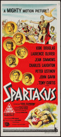 "Movie Posters:Action, Spartacus (Universal International, 1960). Australian Daybill (13""X 30""). Action.. ..."