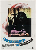 "Movie Posters:Horror, The Satanic Rites of Dracula (Warner Brothers, 1974). Italian 4 - Fogli (55"" X 77.25""). Horror.. ..."