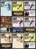 Movie Posters:James Bond, James Bond Paperback Book Lot (1980s-2000s). Japanese Paperback Books (55), Chinese Paperback Books (2), & Autographed Japan... (Total: 61 Items)