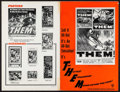 "Movie Posters:Science Fiction, Them! (Warner Brothers, 1954). Uncut Pressbook (20 Pages, (17"" x11""). Science Fiction.. ..."