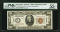 Small Size:World War II Emergency Notes, Fr. 2305 $20 1934A Hawaii Federal Reserve Note. PMG About Uncirculated 55 EPQ.. ...