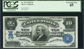 Large Size:Silver Certificates, Fr. 303 $10 1908 Silver Certificate PCGS Extremely Fine 45.. ...