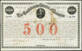 Confederate Notes:Group Lots, Ball 15 Cr. 3A $500 1861 Bond Very Fine+. . ...