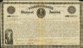 Confederate Notes:Group Lots, Ball 18F Cr. 9 $3000 1861 Bond Very Fine. . ...