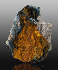 Lapidary Art:Carvings, Pietersite Slab. Outjo, Outjo District. KuneneRegion. Namibia. 10.75 x 8.75x 0.12 inches (...
