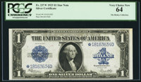 Fr. 237* $1 1923 Silver Certificate PCGS Very Choice New 64