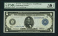 Large Size:Federal Reserve Notes, Fr. 868 $5 1914 Federal Reserve Note PMG Choice About Unc 58 EPQ.. ...