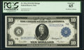 Large Size:Federal Reserve Notes, Fr. 931a $10 1914 Federal Reserve Note PCGS Gem New 65.. ...