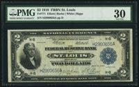Fr. 771 $2 1918 Federal Reserve Bank Note PMG Very Fine 30