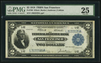 Fr. 780 $2 1918 Federal Reserve Bank Note PMG Very Fine 25