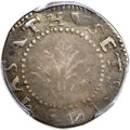 Colonials, 1652 SHILNG Oak Tree Shilling, IN at Bottom, VF30 PCGS. CAC. Noe-12, W-510, Salmon 9a-Fii, High ...