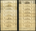 Obsoletes By State:Louisiana, Shreveport, LA- State of Louisiana $1 (27) Mar. 1, 1864 Cr. 17. ... (Total: 27 notes)