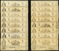 Obsoletes By State:Louisiana, Shreveport, LA- State of Louisiana $1 (24) Mar. 1, 1864 Cr. 16. ... (Total: 24 notes)