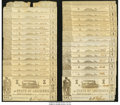Obsoletes By State:Louisiana, Shreveport, LA- State of Louisiana $1 (35) Mar. 1, 1864 Cr. 15 (32); Cr. 18 (3). ... (Total: 35 notes)