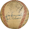 Baseball Collectibles:Balls, 1951 National League All-Star Team Signed Baseball.. ...