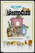 "Movie Posters:Animated, The Aristocats (Buena Vista, R-1980). One Sheet (27"" X 41""). Animated. ..."