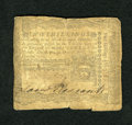 Colonial Notes:Pennsylvania, Pennsylvania April 3, 1772 2s Very Good-Fine. The note has sufferedfrom a very hard center fold and is a little rough on th...
