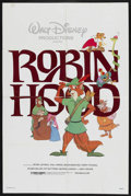 """Movie Posters:Animated, Robin Hood (Buena Vista, R-1982). One Sheet (27"""" X 41""""). Animated. ..."""