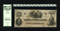 Confederate Notes:1862 Issues, T41 $100 1862. This popular C-note is graded Choice About New 58PPQby PCGS and was issued at Hempstead on February 9, 1...