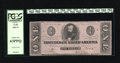 Confederate Notes:1862 Issues, T55 $1 1862. This issue is graded Choice New 63PPQ by PCGS....