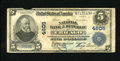 Error Notes:Large Size Errors, Chicago, IL - $5 1902 Plain Back Fr. 602 Inverted Back The NB of the Republic Ch. # 4605. The Large Size error hit p...