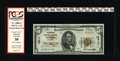 National Bank Notes:Colorado, Denver, CO - $5 1929 Ty. 2 The American NB Ch. # 12517. This noteis very bright and nearly uninhibited by the minor st...