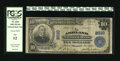 National Bank Notes:Kentucky, Ashland, KY - $10 1902 Plain Back Fr. 628 The Ashland NB Ch. #2010. Full engraved signatures stand out boldly on this a...