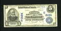 National Bank Notes:Kentucky, Louisville, KY - $5 1902 Plain Back Fr. 605 The Citizens NB Ch. #(S)2164. This is the first time a note from this insti...