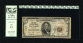 National Bank Notes:Maryland, Baltimore, MD - $5 1929 Ty. 2 The First NB Ch. # 1413. The heavyfolds that account for the grade do not interrupt the ...